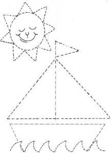 resimlerle_çizgi_çalışması_gemi