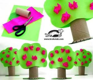 rulodan_ağaç_yapımı