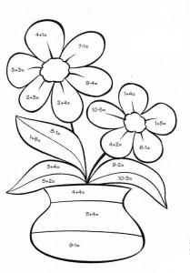 sayı_boyama_çiçek