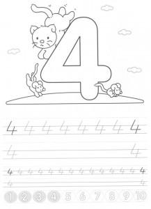 sayılar_dört