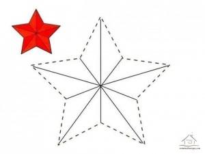 çizgi tamamlama ve boyama yıldız