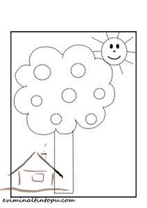 şekiller_çizgi_tamamlama_ağaç