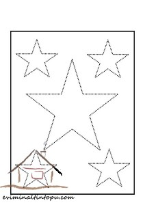 şekiller_çizgi_tamamlama_yıldız