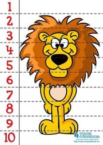 aslan sayı puzzle