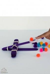 dil çubuklarından harika oyuncak