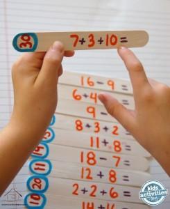 dil çubuklarından matematik öğretimi