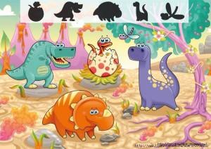 dinozorlar çoklu gölge eşleştirme