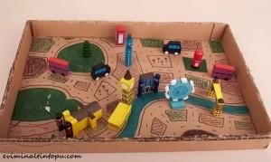 kartondan oyuncak yapımı