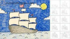 kolay gemi çizimi