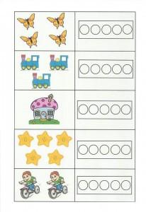 okul öncesi sayı etkinliği