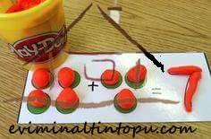 oyun hamuru ile matematik etkinliği