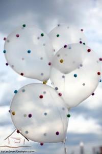 ponpon ile balon etkinliği