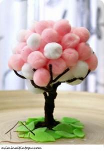ponpondan ağaçç