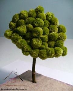 ponpondan ağaç etkinliği