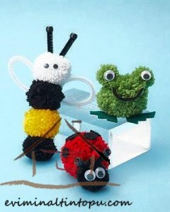ponpondan böcekler