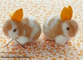 ponpondan minik tavşanlar