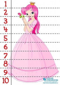prenses sayı puzzle