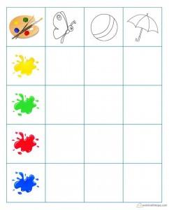 renk öğretim aktiviteleri