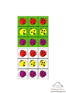 renkli gruplandırma etkinlikleri
