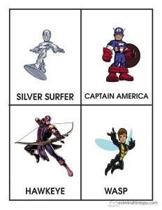 süper kahramanlar çalışmaları