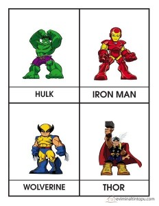 süper kahramanlar (2)