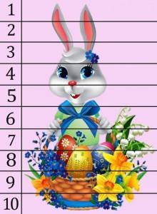 tavşan sayı puzzle