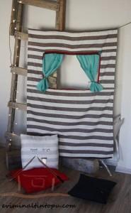 tiyaro kukla sahnesi yapımı