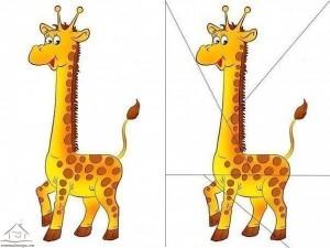 zürafa puzzle