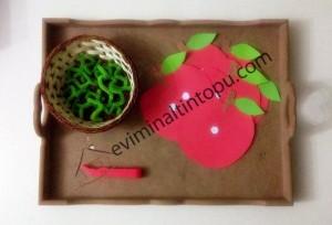 elma kurdu ile eğlenceli matematik etkinliği (4)