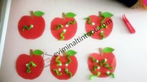elma kurdu ile eğlenceli matematik etkinliği (8)