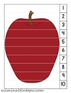 elma sayı puzzle okul öncesi (1)