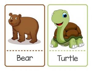 hayvanlar ve isimlerini eşleştiriyorum