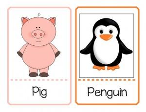 ingilizce hayvanları öğreniyorum