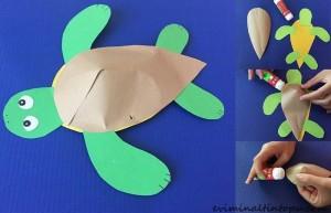kağıttan hayvanlar nasıl yapılır (2)