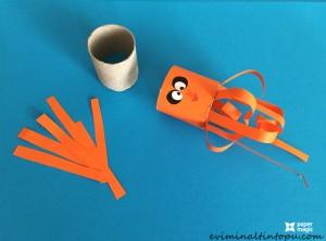 kağıttan nasıl yapılır ahtapot