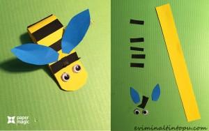 kağıttan nasıl yapılır arı