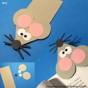 kağıttan nasıl yapılır fare (2)