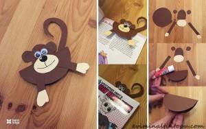 kağıttan nasıl yapılır maymun