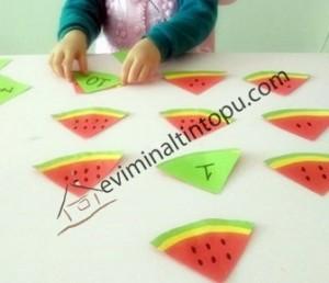 karpuz ile matematik etkinlikleri (10)