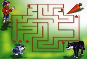labirent yol bulma çalışmaları okul öncesi anasınıfı (10)