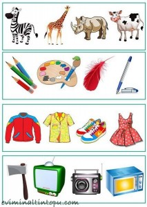 okul önces, hangisi farklı çalışmaları (1)