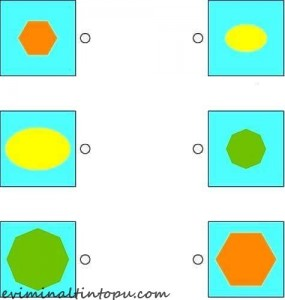 şekiller ile eşleştirme çalışması okul öncesi (3)