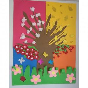 anasınıfı dört mevsim sanat etkinlikleri (4)