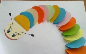 dairesel kağıtlardan sanat etkinlikleri (5)