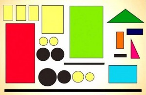 geometrik şekiller ile kes yapıştır çalışmaları okul öncesi (1)