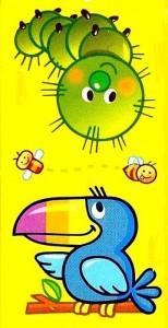 hayvanlar temalı domino kartları (1)