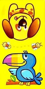 hayvanlar temalı domino kartları (5)
