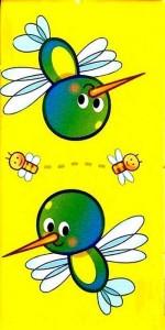 hayvanlar temalı domino kartları (8)
