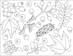 ilkokuliçin sonbahar boyama çalışması (16)