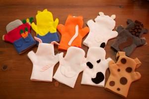 keçeden çiftlik hayvanları kuklaları yapımı (2)